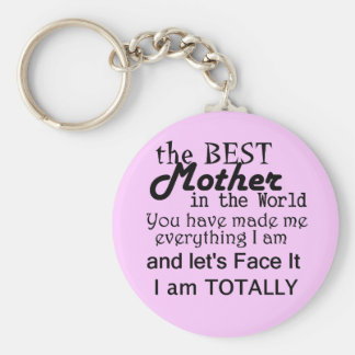Best Mother In The World Key Ring
