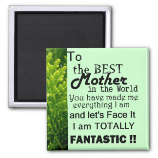 Best Mother In The World Magnet
