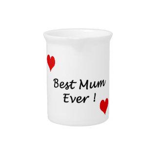 best mum ever beverage pitchers
