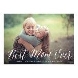 Best Mum Ever Script | Mother's Day Card 13 Cm X 18 Cm Invitation Card