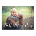 Best Mum Ever Script | Mother's Day Card 13 Cm X 18 Cm Invitation Card