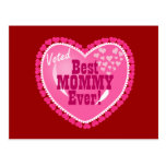 Best Mummy EVER! Postcard