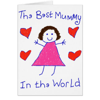 Best Mummy In The World Greeting Card