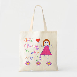 Best Mummy in World Budget Tote Bag