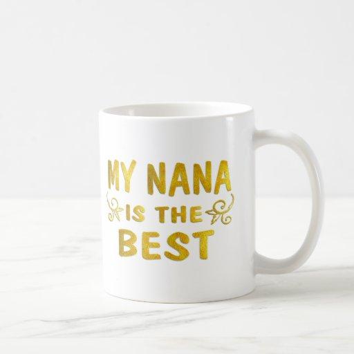 Best Nana Basic White Mug