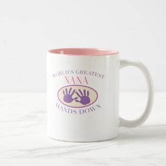 Best Nana Hands Down T-shirt Mug