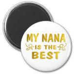Best Nana Refrigerator Magnet