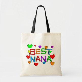 Best Nana T-Shirts Gifts Tote Bag