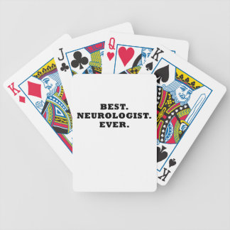 Best Neurologist Ever Bicycle Playing Cards