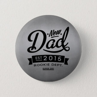 Best New Dad 2015 6 Cm Round Badge