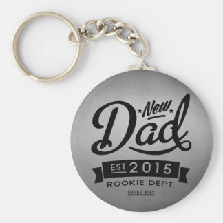 Best New Dad 2015 Key Ring