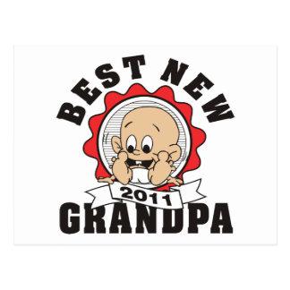 Best New Grandpa 2011 Postcard