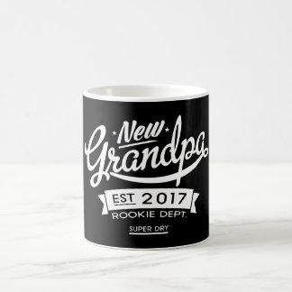Best New Grandpa 2017 Dark Coffee Mug