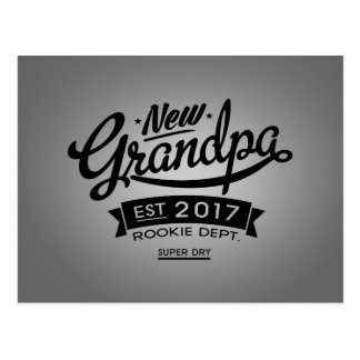 Best New Grandpa 2017 Postcard
