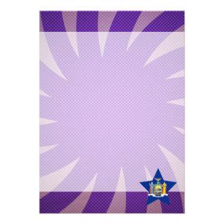 Best New York Flag Design 13 Cm X 18 Cm Invitation Card