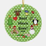 Best Niece Ever Christmas Ornament