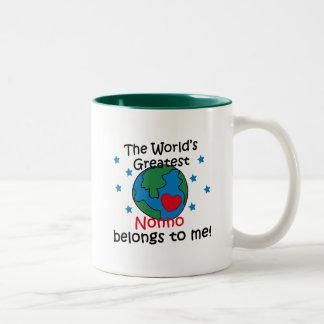 Best Nonno Belongs to me Two-Tone Mug
