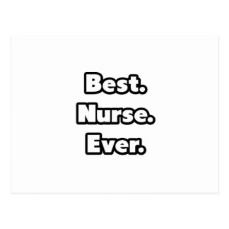 Best. Nurse. Ever. Postcard
