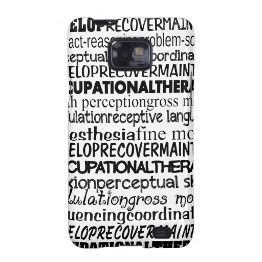 Best Occupational Therapy Gifts Samsung Galaxy S2 Case
