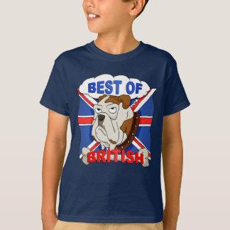 Best of British Cartoon Bulldog Kids T-Shirt