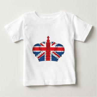 Best of British, Crown, Union Jack Baby T-Shirt