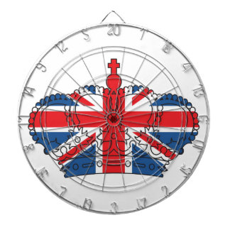 Best of British, Crown, Union Jack Dartboard