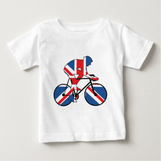Best of British, Cycling, Union Jack Baby T-Shirt