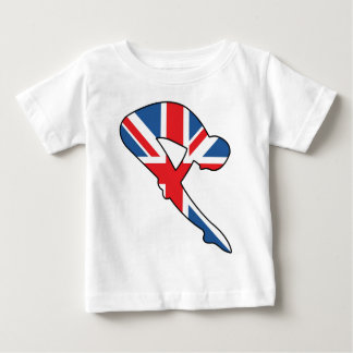 Best of British, Diver Baby T-Shirt