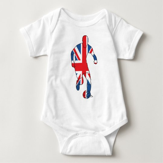 Best of British, Football Baby Bodysuit