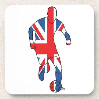 Best of British Football Beverage Coasters