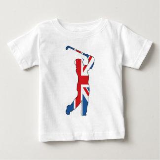 Best of British, Golfer Baby T-Shirt
