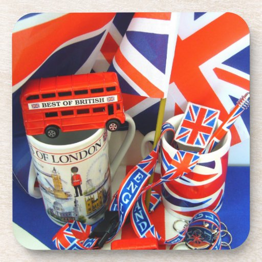 Best of British Souvenirs Drink Coasters