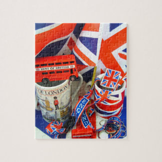 Best of British Souvenirs Jigsaw Puzzle