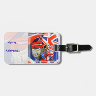 Best of British Souvenirs Luggage Tag