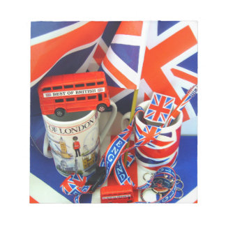 Best of British Souvenirs Notepad