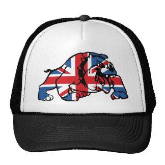 Best of British Union Jack Bulldog Trucker Hat