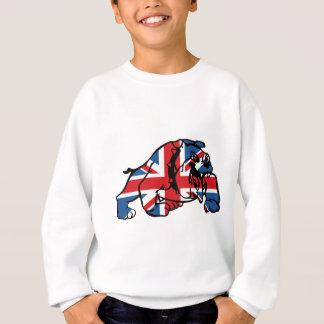 Best of British Union Jack Bulldog Sweatshirt