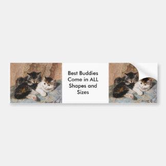 Best of Friends Bumper Stickers