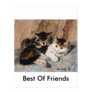 Best of Friends Post Card