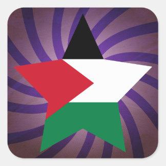 Best Palestine Flag Design Square Sticker