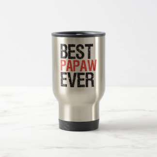 Best Papaw Ever Travel Mug