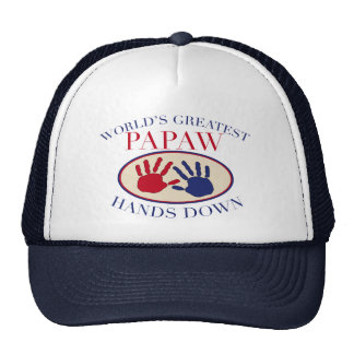 Best Papaw Hands Down Cap