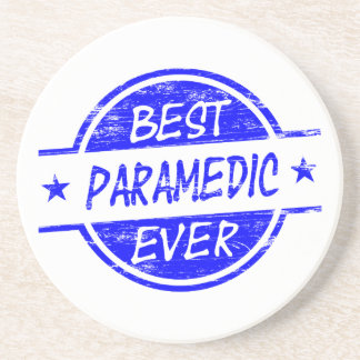 Best Paramedic Ever Blue Coaster