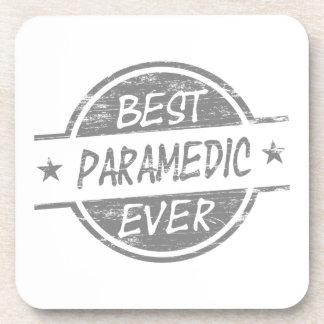 Best Paramedic Ever Gray Beverage Coaster