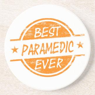 Best Paramedic Ever Orange Drink Coaster