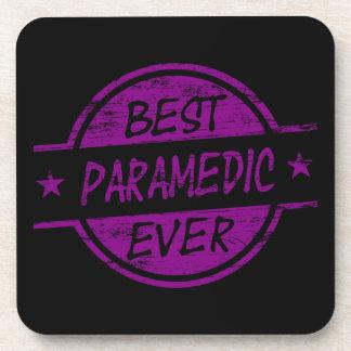 Best Paramedic Ever Purple Drink Coaster