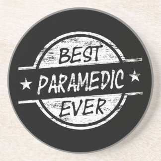Best Paramedic Ever White Beverage Coasters