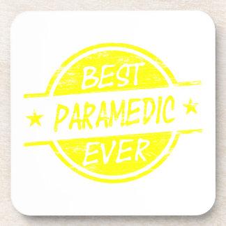Best Paramedic Ever Yellow Coaster