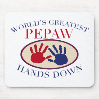 Best Pepaw Hands Down Mouse Mat