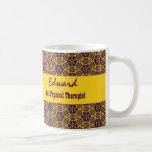 Best PHYSICAL THERAPIST Gold Multi Tribal V05B Coffee Mug